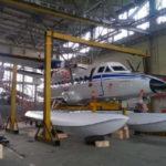 ФОТО: Самолет L-410 получил поплавковое шасси